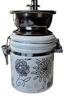 Механическая кофемолка керамика W-303
