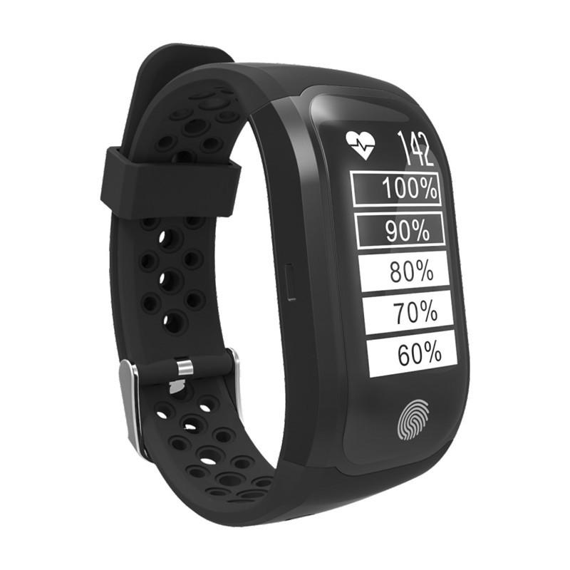 S908 (G03) фитнес браслет с GPS - Черный