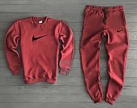 Спортивный костюм Nike красный топ реплика