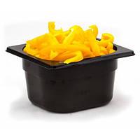 Гастроемкость из поликарбоната GN 1/6-65 176х162х65мм черная 1665Bl Gastro Plast