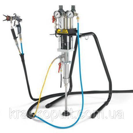 Фарбувальний агрегат з пневмоприводом Wagner FineFinish 20-30 S AirCoat на рамі поршневий