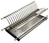 Сушка 800 для посуды нержавейка(штампованая) LS 800мм