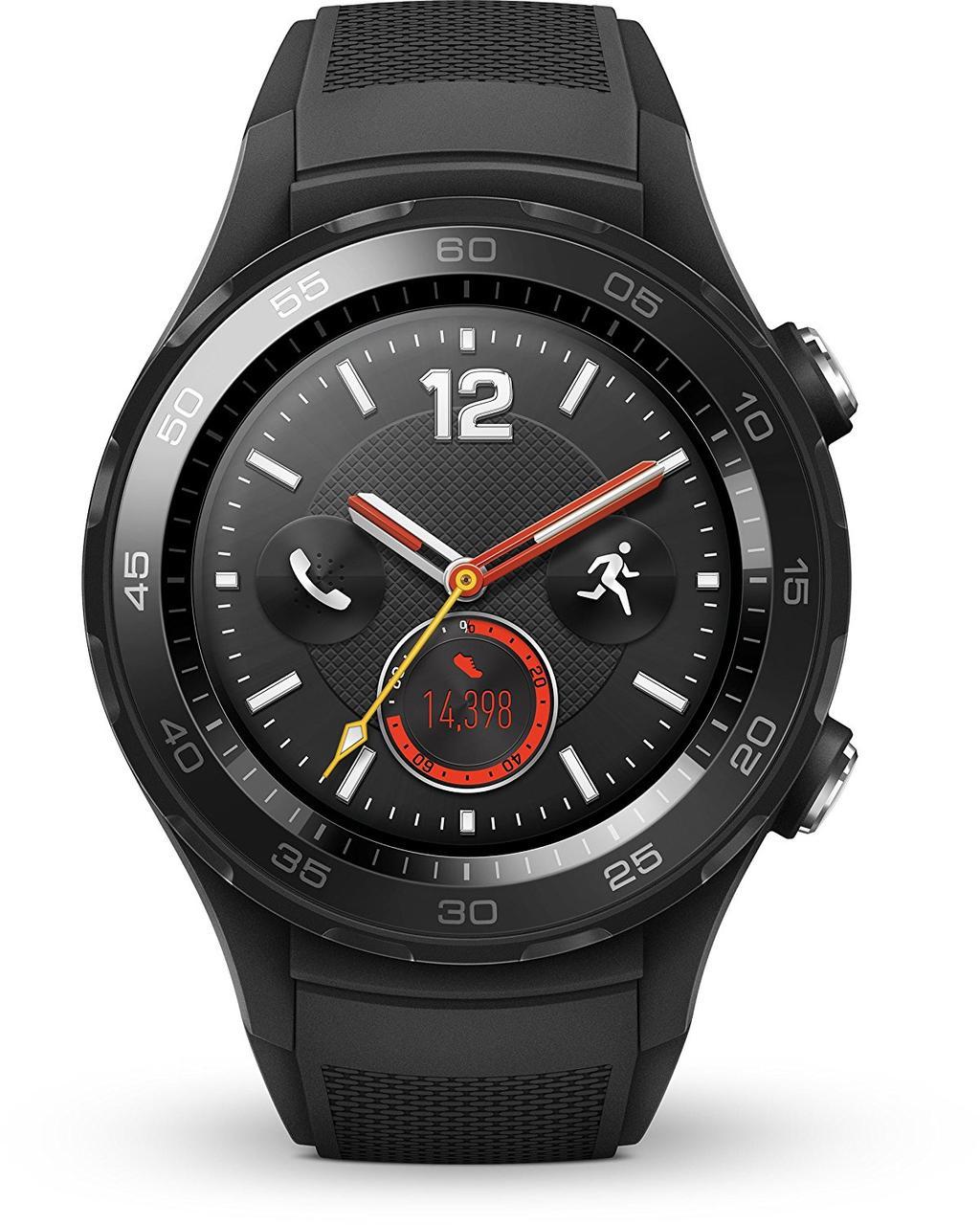 Huawei Watch 2 - Carbon Black (Поддержка SIM карт 3G/4G LTE)