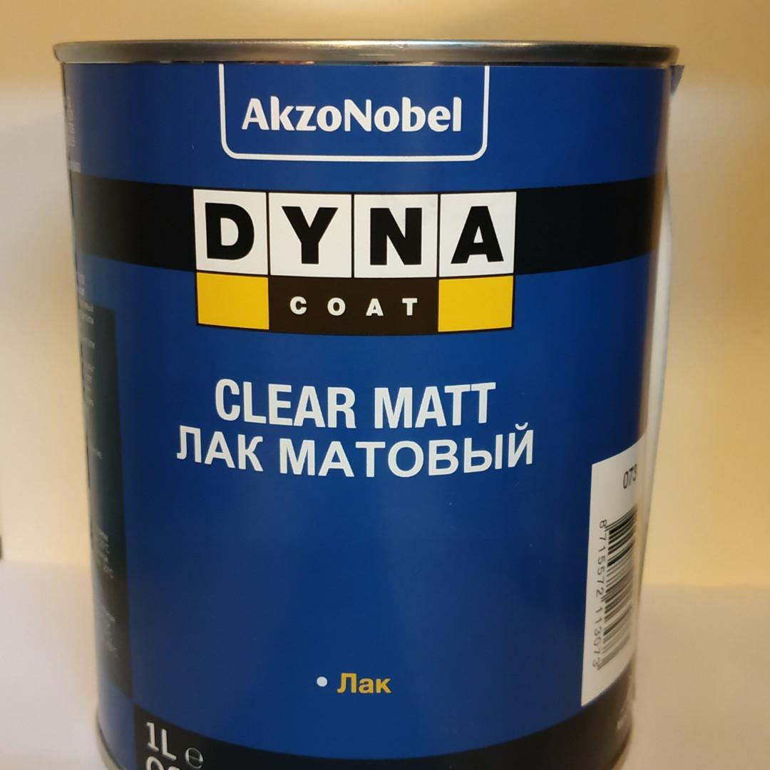 Лак автомобильный Dyna Clear Matt 1л