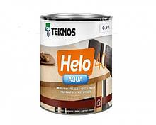 Лак полиуретановый TEKNOS HELO AQUA 40 для паркета и мебели (полуглянцевый) 0,9 л