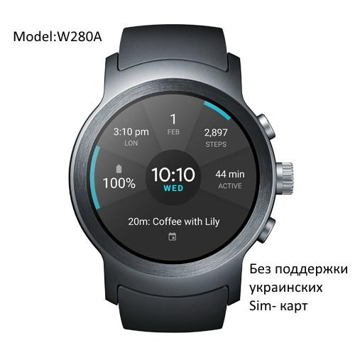 LG Watch Sport смарт часы - W281 - работает с украинскими сим картами