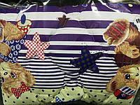 Одеяло Детское из овечий шерсти мишки