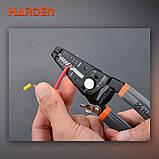 """Мультифункциональный стриппер съемник изоляции 7,5"""" Harden Tools 660623, фото 2"""