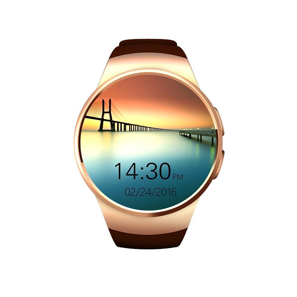 Kingwear KW18 умные часы - Золото