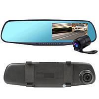 Регистратор-зеркало DVR-138 с двумя камерами