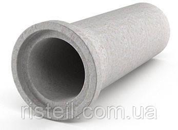 Труба залізобетонна з фальцевим з'єднанням, ТС 80.25 (з мет. обичайкой)
