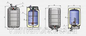 Водонагреватель ELDOM Extra life 72326NMP 15 l. 2.0 kW над мойкой, фото 2