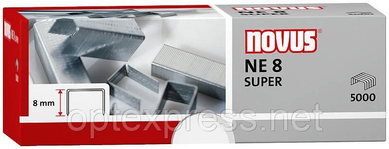 Скобы специальные NE8 SUPER для электростеплера  NOVUS