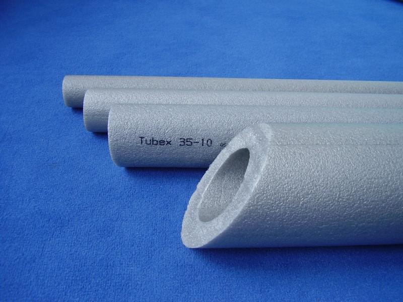 ИЗОЛЯЦИЯ ДЛЯ ТРУБ TUBEX®, внутренний диаметр 52 мм, толщина стенки 10 мм, производитель Чехия