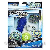 Beyblade Burst Светящийся Бейблейд с пусковым устройством Wyvron W2 Hasbro