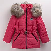 Куртка зимняя Бемби КТ174 122 см коралловый (33174023342.K00) acab6da3a46db