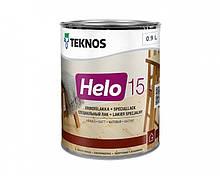 Лак уретан-алкидный TEKNOS HELO 15 яхтовый (полуматовый) 0,9 л