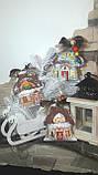 """Эксклюзивный """"Сказочный домик"""" с ручной росписью, двухсторонний, кофе,какао,корица, выс.13 см., 140 гр., фото 8"""