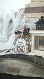 """Эксклюзивный """"Сказочный домик"""" с ручной росписью, двухсторонний, кофе,какао,корица, выс.13 см., 140 гр., фото 9"""