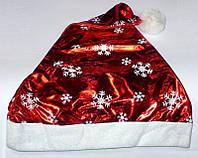 Шапка Деда мороза / Снегурочки белые снежинки