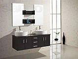 Комплект мебели для ванной Golston ES6220, 1500х500х490 мм, фото 2