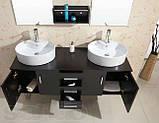 Комплект мебели для ванной Golston ES6220, 1500х500х490 мм, фото 3