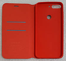 Чохол книжка Southking для Huawei Honor 7C red, фото 2