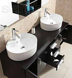 Комплект мебели для ванной Golston ES6220, 1500х500х490 мм, фото 4