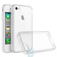 Чехол силиконовый Slim Apple iPhone 4 прозрачный