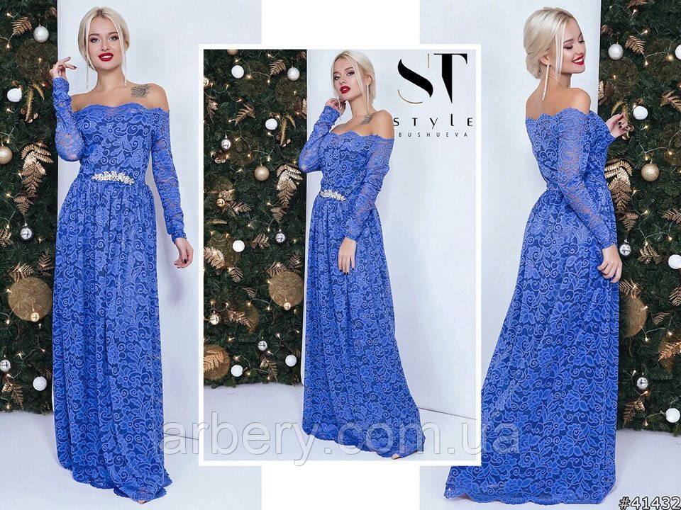 fcbba3da5fe Шикарное вечернее гипюровое платье в пол  продажа