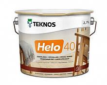 Лак уретан-алкидный TEKNOS HELO 40 яхтовый (полуглянцевый) 2.7 л
