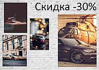 К Новому Году! Красивые постеры для дома, трендовые плакаты для квартиры животные города машины еда цветы