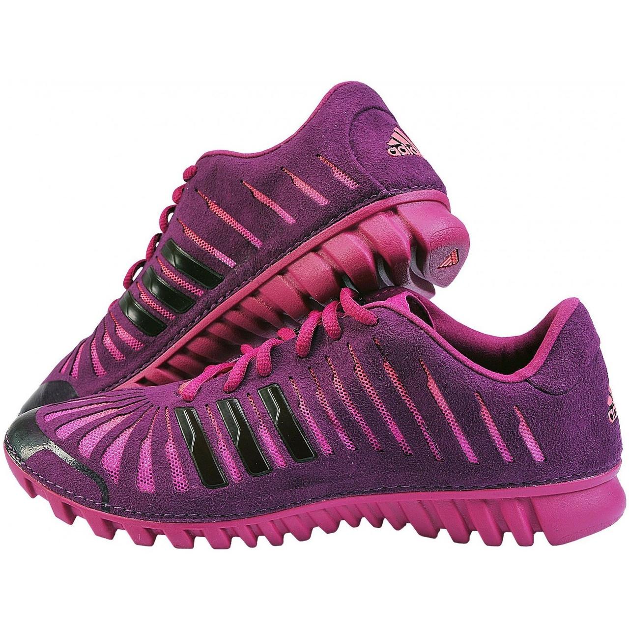 buy online b641e 302fe Кроссовки женские adidas Fluid Trainer W G17891 (сиреневые, для фитнеса,  верх из текстиля