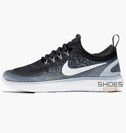 be189a88 Мужские кроссовки Nike Free Run Distance 2 Black/Blue 863776-001, оригинал,