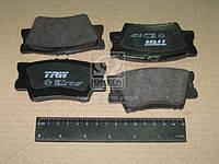 Тормозные колодки задние Тойота Камри V40 2006-->2011 TRW (США) GDB3426