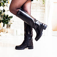 74e19cf2c Высокие кожаные сапоги в Украине. Сравнить цены, купить ...