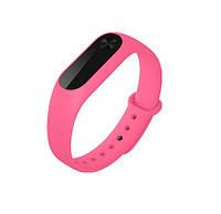 Ремешок силиконовый для Xiaomi mi band 3 pink