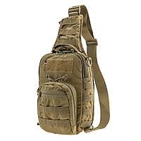Тактическая плечевая сумка EDC M Coyote