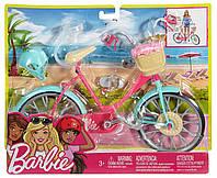 Гламурный велосипед с аксессуарами для Куклы Барби Barbie Bicycle, фото 1