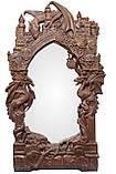 Рама резная для зеркала Драконы (Игры престолов) 120*70 см, фото 6