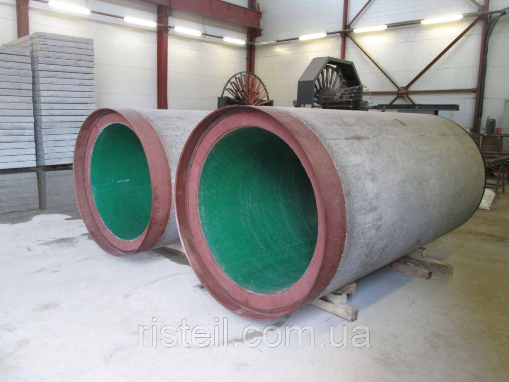 Бетонная труба с полиэтиленовой облицовкой, ТC 60.25-3П