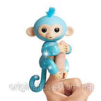 Интерактивная ручная блестящая обезьянка Fingerlings Амелия WowWee