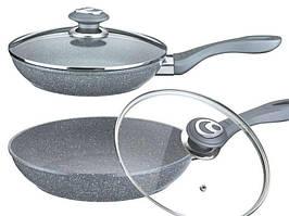 Сковорода с крышкой Benson 26см (Гранитное покрытие) BN-516