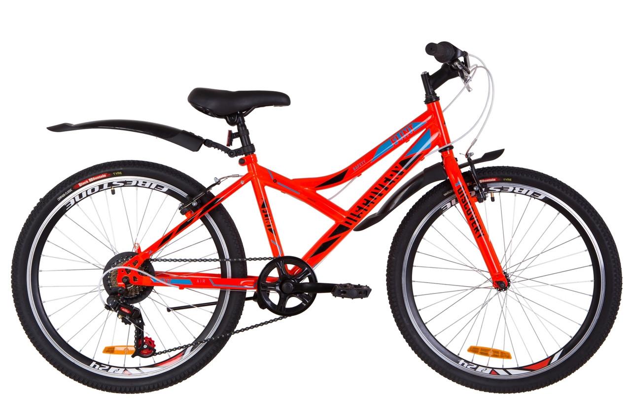"""Подростковый велосипед 24"""" Discovery Flint Vbr 2019"""