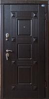 Квадро Венге южное. Дверь входная