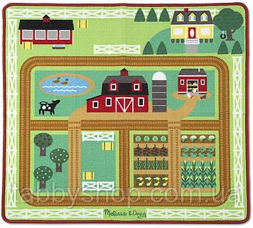 """Игровой коврик Melissa&Doug """"Ферма"""" с животными"""