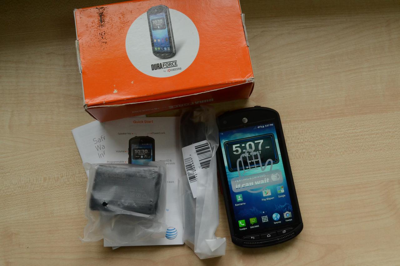 Новый Водонепроницаемый смартфон Kyocera Duraforce E6560 16Gb Оригинал!