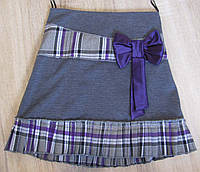 Р. 122-146 распродажа юбка детская трикотажная, фото 1