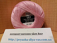 100% мерсеризованный хлопок (50г/ 225м) Yarnart Lily 0319