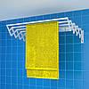 Сушка для білизни настінна Rokar Мілтон 5 трубок 60 см (M5-60)